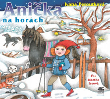 Anička na horách –  audiokniha na mp3 CD