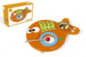 Hudební stolek 3v1 Rybička