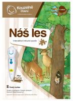 Kouzelné čtení - Puzzle - Náš les
