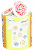 Stampo textil - Mandaly - 9 ks