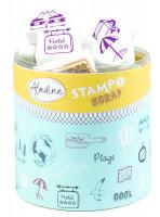 Stampo scrap - cestování - 46 ks