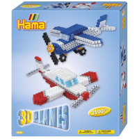 Hama Midi - Dárková sada 3D letadla