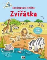 Zvířátka -  samolepková knížka