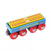 Bigjigs - vagónek se dvěma nosníky