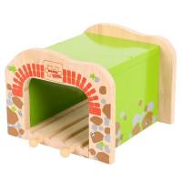 Bigjigs - Dvojitý železniční tunel