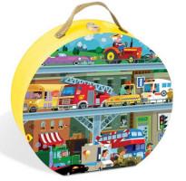Puzzle - dopravní prostředky - 100 ks