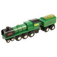 Bigjigs - Originální dřevěná lokomotiva - RH&DR Typhoon