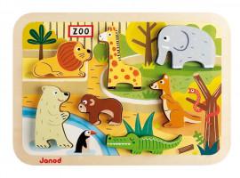 Vkládací puzzle -ZOO