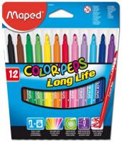 Dětské fixy Maped Color´Peps - 12 barev