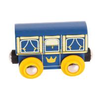 Bigjigs - Královský vagónek