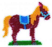 Hama Midi - podložka kůň