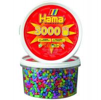 Hama Midi - korálky v tubě mix 3000 ks