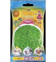 Hama Midi - korálky neónové zelené 1000 ks