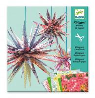 Kirigami Papírové hvězdy