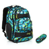 Studentský batoh a penál Topgal HIT 869 E + HIT 881 E
