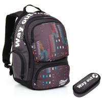 Studentský batoh a penál Topgal HIT 865 C + HIT 877 C