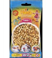 Hama Midi - korálky zlaté 1000 ks
