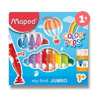 Dětské fixy Maped Color´Peps Jumbo - 12 barev