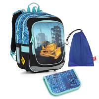 Školní set TOPGAL - CHI 877 D + CHI 910 + pytlík na přezůvky