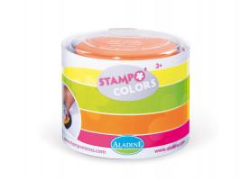 StampoColors -  barvené podušky neonové, 4 ks,