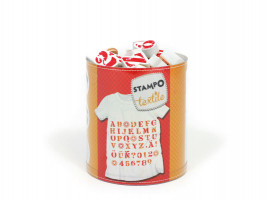 Stampo textil - Abeceda - 45 ks