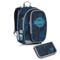 Školní batoh a penál Topgal - CHI 881 D + CHI 915 77d337987e