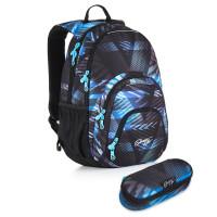 Studentský batoh a penál Topgal - HIT 886 D + HIT 900