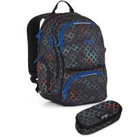 Studentský batoh a penál Topgal - HIT 887 A + HIT 901