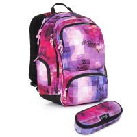 Studentský batoh a penál Topgal - HIT 891 H + HIT 905