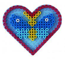 Hama Maxi podložka průhledná - srdce