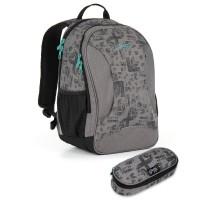 Studentský batoh a penál Topgal - HIT 893 C + HIT 907
