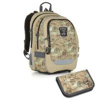 Školní batoh a penál TOPGAL - CHI 872 K + CHI 901