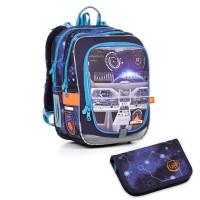 Svítící školní batoh Topgal ENDY17003 BATTERY + penál  PENN17003_B