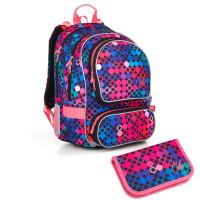 Školní batoh a penál Topgal  - ALLY 18012 G