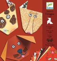 Origami Hlavičky zvířátek