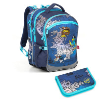 Školní batoh a penál Topgal COCO 18015 B