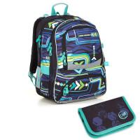Školní batoh a penál TOPGAL NIKI 18016 B