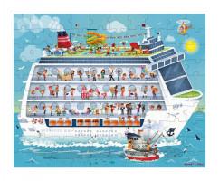 Puzzle - Námořní plavba 2v1 100-200 ks