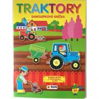 Traktory - samolepky k opakovanému použití