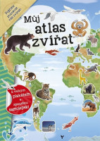 Můj atlas zvířat + plakát a samolepky