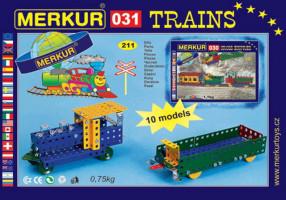 Merkur - Železniční modely - 211 ks