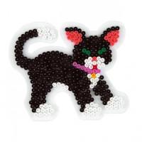 Hama Midi - podložka kočka