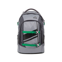 Studentský batoh Ergobag Satch - Blazing Grey