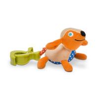 Vibrační zvířátko s klipem - Pes
