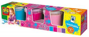 Prstové barvy-Trendy-4x150ml