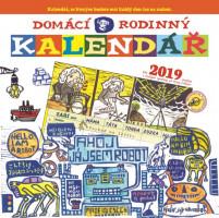 Domácí rodinný kalendář 2019