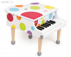 Dřevěný klavír - confetti