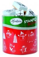Stampo scrap - zimní hrátky