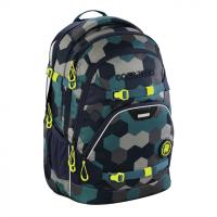 Školní batoh Coocazoo ScaleRale, Blue Geometri, certifikát AGR