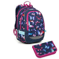 b57eb9c0fa7 Školní batoh a penál Topgal - CODA 18045 G